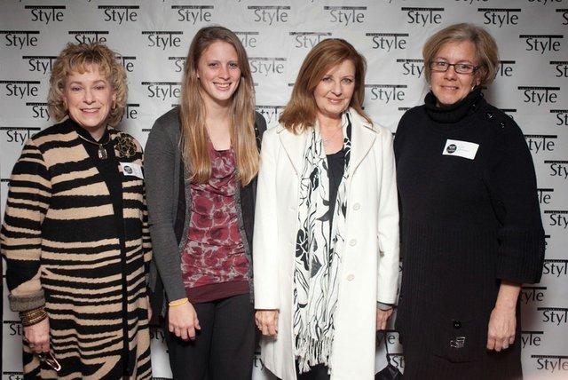 Ora Benty, Emily Reichart, Pat Caulfield & Kim Monison