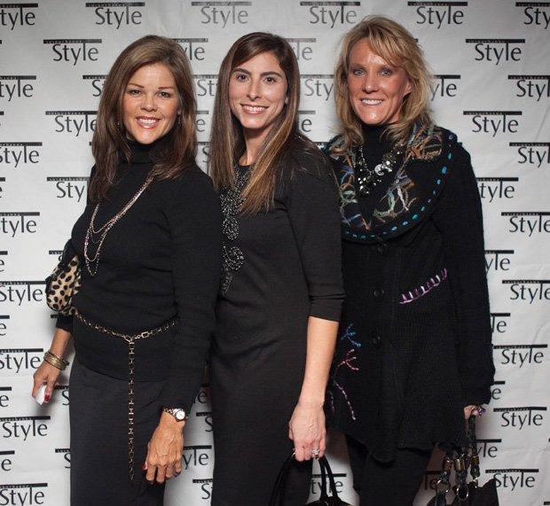 Erin Cruise, Vicki Malatteri & Barb Yeskey
