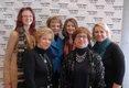Gayle Weidner, Celeste Everhart, Arielle Goodyear, Judy Dougherty, Amanda Meckley, & Carolyn Witwer