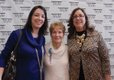 Rhiannon Giberson, Ann Nixon, & Janice Granauro