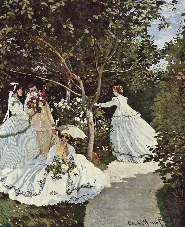 Spring Inspiration - Women in the Garden by Claude Monet.jpg