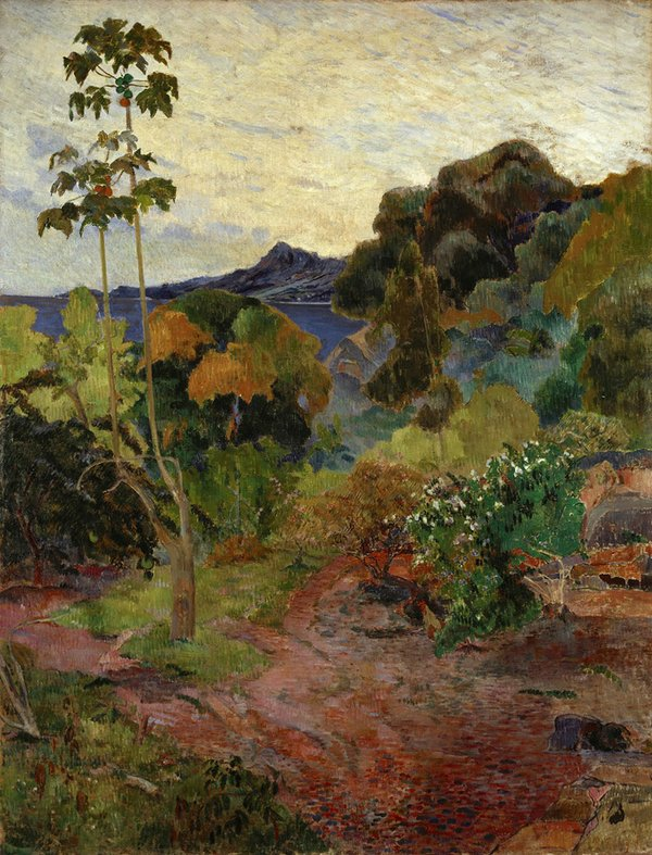 Summer Inspiration - Martinique Landscape by Paul Gauguin.jpg