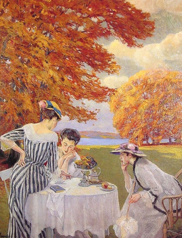Fall Inspiration - Tea in the Park by Edward Cucuel.jpg