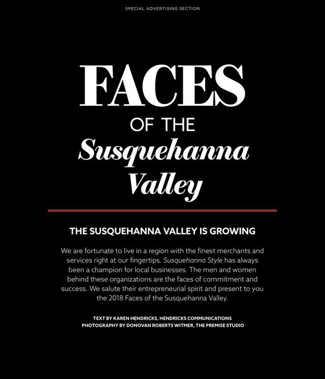 Faces of Susquehanna Valley 2018