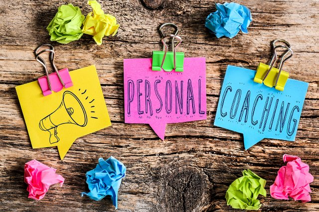 Note Post-it : personal coaching