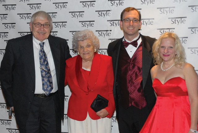 Theresa Luci & Rick Hatcher, Claudia Luci & Will Hatcher
