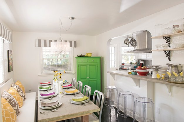 Small Space Big Style kitchen remodel with susquehanna style's editor - susquehanna style