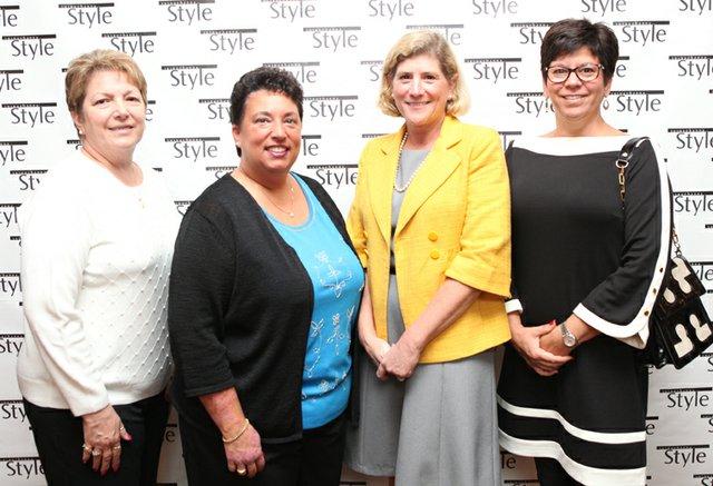Maggie Stinson, Lynn Haller, Christina Simonds & Laurie Riebert