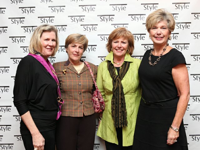 June Wright, Joan Sounders, Barbara Carr & Patti Sommers