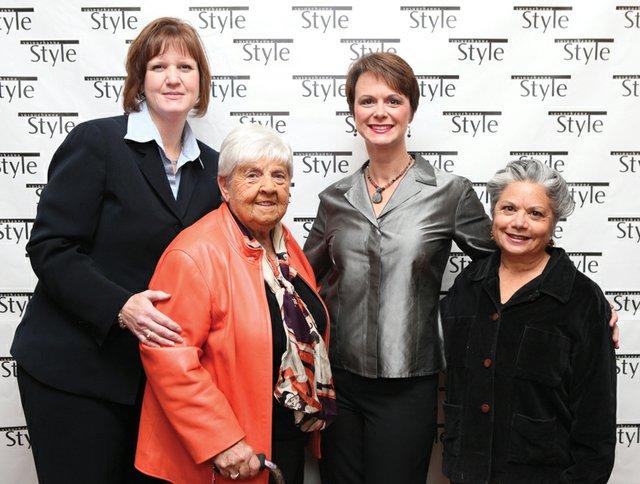 Heather Wilson, Ann Barshinger, Stacey Wilson & Judy Perilstein