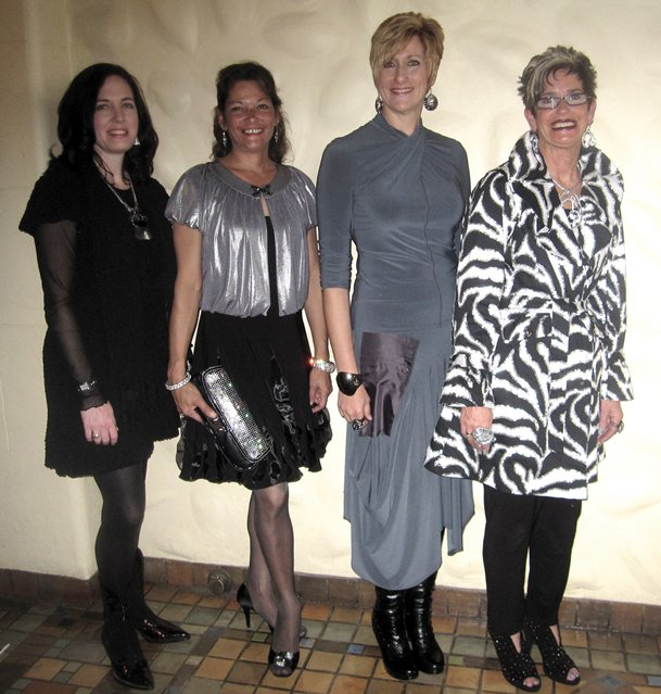 Wearing Head to Toe: Dena Jefferson, Lorra Amerman, Lisa Watts & Connie Barto