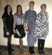 Wearing Head to Toe: Dena Jefferson, Lorra Amerman, Lisa Watts & Connie Barto