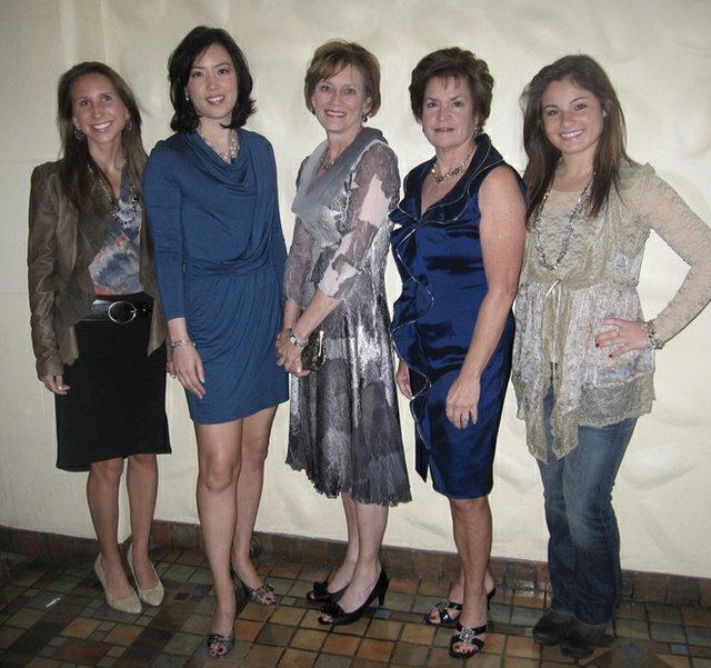 Wearing Mary Eileen's: Kate Hallock, Jenny Myers, Judy Dillon, Mary Wehler & Olivia Bruggemeier