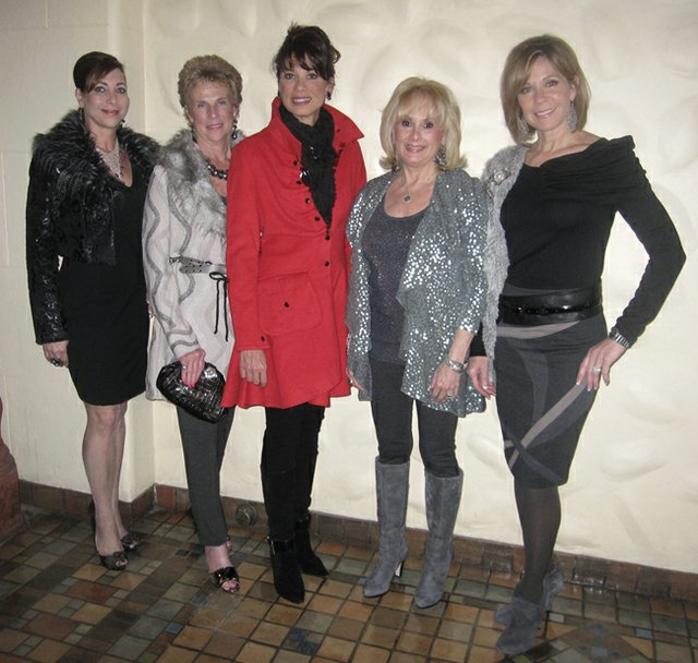 Wearing Annabell's: Donna Fox, Vicki Sicher, Kerry Robinson, Pat Magill & Luanne Williard