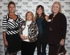 Elaine Hutchinson, Mo Humphreys, Lesley Hlatky & Carole Wiggin