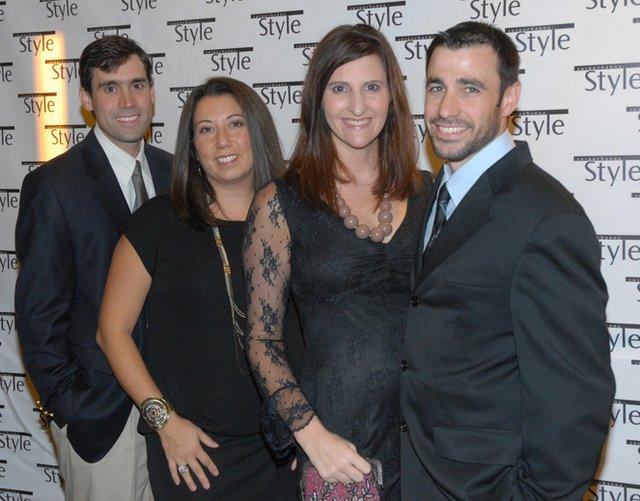 Brent & Antonia Pawlson, Mary & Dimitri Papadimitriou