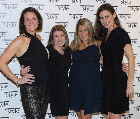 Suzanne Woodard, Karen Mitchell, Rebecca Bartos & Victoria Abadir