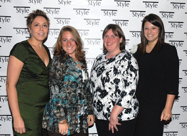 Maria Reyes, Erin Shrader, Sharon Harig & Kristina McClure