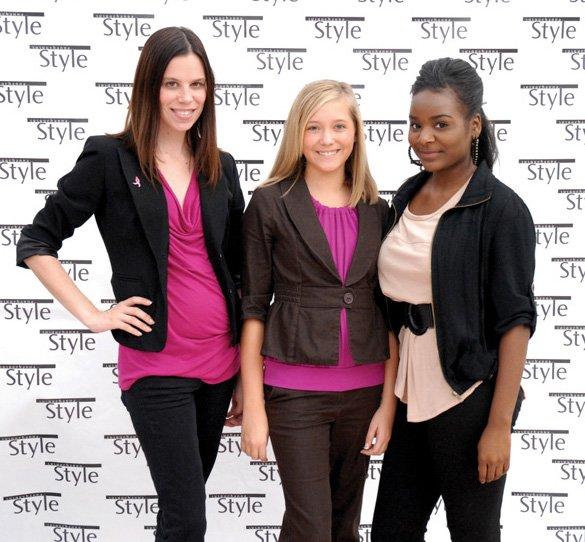 Sue Bailey, Aubrey Schell, Raven Mckeal