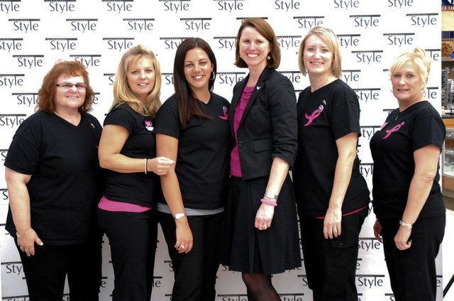 Alice Calhoun, Michele Blake, Lynn Gray, Rachel Gallagher, Tammy Sheaffer, Tina Haser