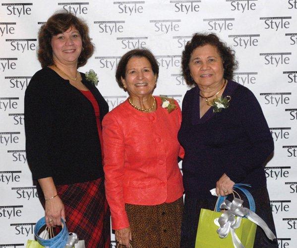 Anita Rash, Louise Havas & Alicia Stine