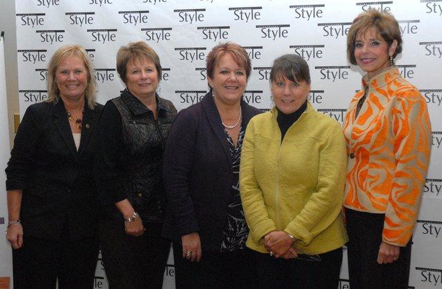 Pat Joseph, Sue Zeigler, Teri Clinton, Maureen Shine & Judy Chamber