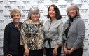 Linda Pugh, Mary Ellen Lynch, Kay Roddey & Barb Augustine