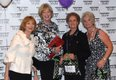 Wearing Leaf of Eve are: Bonnie Dixon, Susan Kachmar, Arlene Gontz & Darlene Dommel