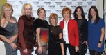 Wearing The Plum are: Soni Dimond, Becky Hughes, Susan Simmerson, Marcia Gelman, Stephanie Sorensen, Danielle Popik & Kirsten Rettberg
