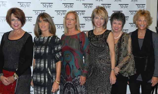 Wearing Presence are: Carlyn Chulick, Ginny Madeira, Sarah Kurot, Marla Gibson, Patty Armbrust & Victoria Piscioneri