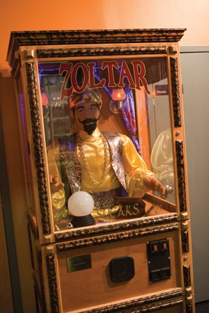 """The Taproom's """"Zoltar"""" offers entertaining advice"""
