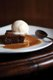 Bull's Head Public House: Warm sticky toffee pudding with ice cream melting on top