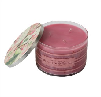 Skeem Sweet Pea and Vanilla candle ($34); The Sassy Tassel, Lititz