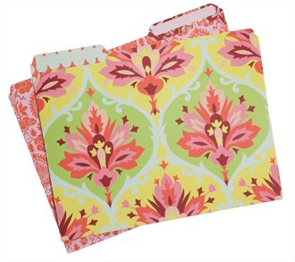 Amy Butler file folders ($13); The Sassy Tassel, Lititz